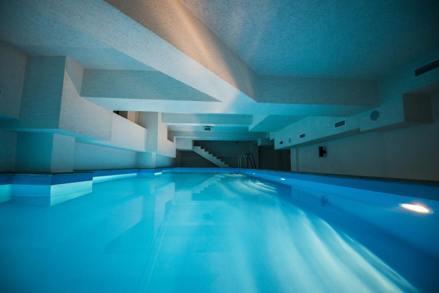 Indoor Swimming Pool Gym tbilisi inni swimming pool and a gym is working at full capacity
